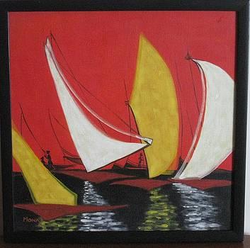 Boats by Mona Bhavsar