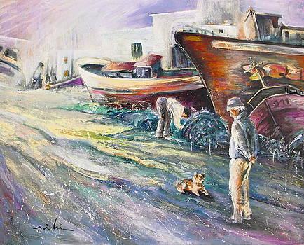 Miki De Goodaboom - Boats Yard in Villajoyosa Spain