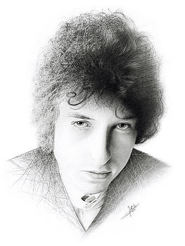 Bob Dylan by Christian Klute