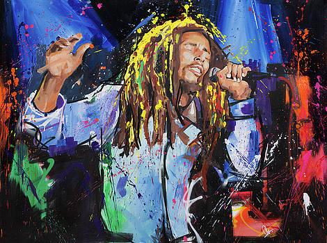Bob Marley by Richard Day