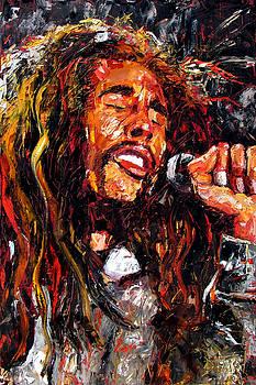 Bob Marley Robert Nesta Marley by Debra Hurd