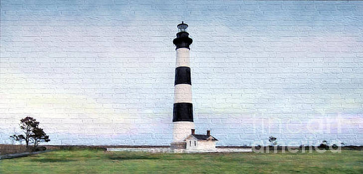 Bodie Island Lighthouse Mural Art by Marion Johnson