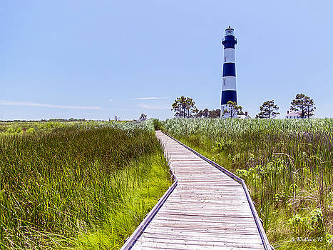Bodie Island Lighthouse - Scenic by Brian Wallace