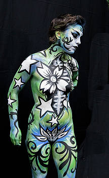 Bodypainting Day New York City, 2016 by Wayne Higgs
