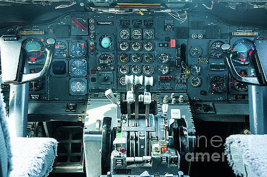 Boeing 747 cockpit 23 by Micah May