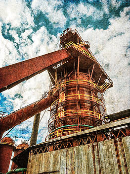 Boiler at Sloss Furnaces by Phillip Burrow