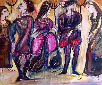 Bold Tudor party by Judith Desrosiers