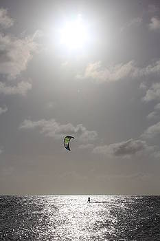Bonaire Kitesurfing by Jennifer Ansier