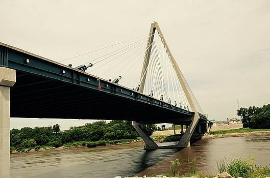Bond Bridge  Kansas City Missouri by Karen Kersey