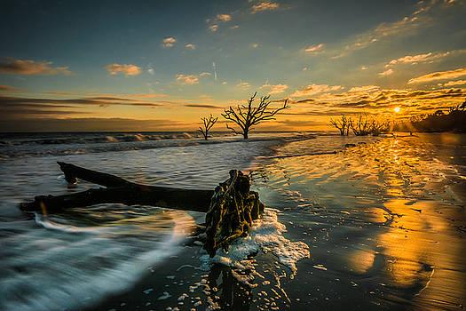 Boneyard sunset by Riddhish Chakraborty
