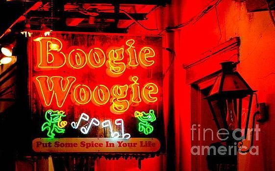 Boogie Woogie Glow New Orleans Neon by Michael Hoard