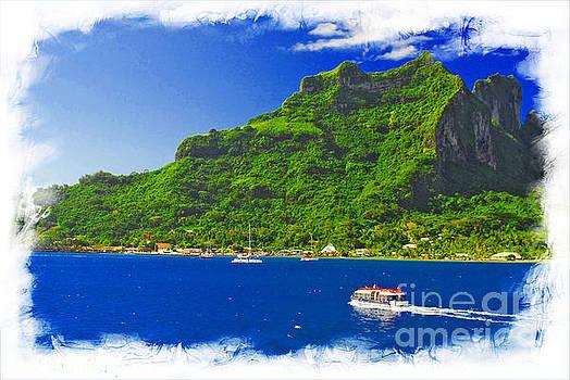 Bora Bora French Poynesia Ver 2 by Larry Mulvehill