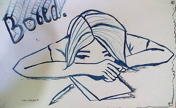 Bored  by Muhammad arif Channa -MAC-