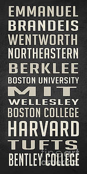 Edward Fielding - Boston Colleges Poster