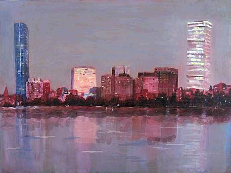 Boston Evening by Lyn Vic