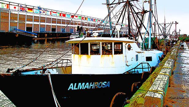 Michelle Wiarda - Boston Harbor Fishing Boats
