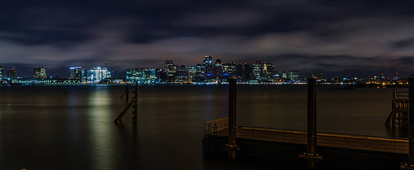 Boston Harbor by Mike Berry