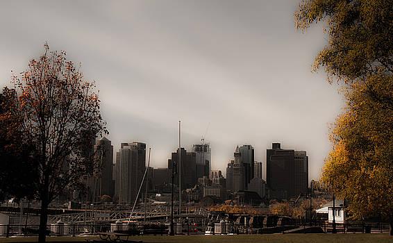 Boston in a soft light by Lisa Brandel