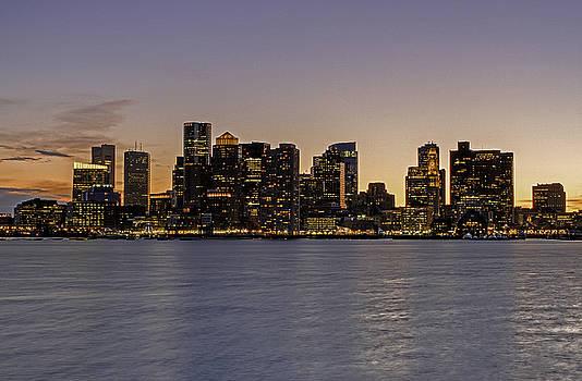 Juergen Roth - Boston Last Night Sunset