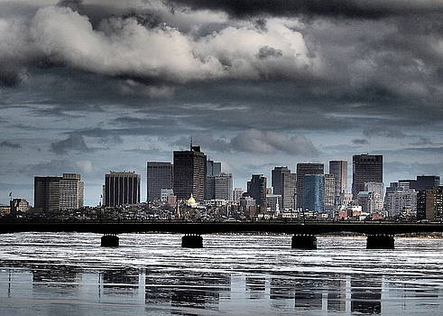 Boston Skyline by Henry Gray