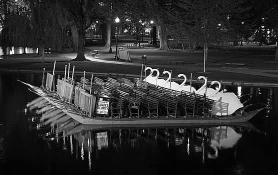 Boston Swan Boat by Juergen Roth