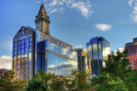 Boston Waterfront Architecture by Joann Vitali