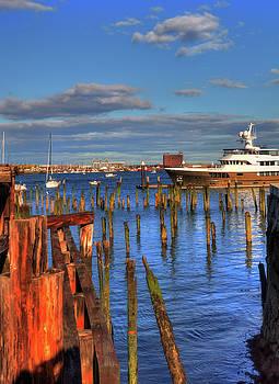 Boston Waterfront - Lewis Wharf by Joann Vitali