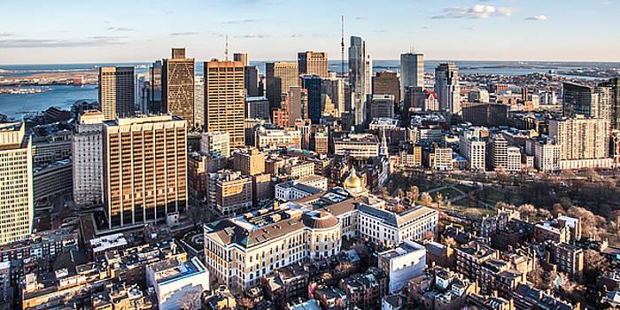 Boston's Backside by Paul Treseler