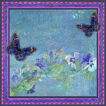 Botanical and Colorful Butterflies by Judith Cheng