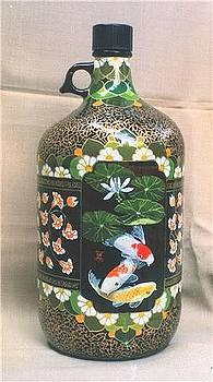 Bottle Art 3 by Yuki Othsuka