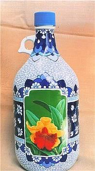 Bottle Art 5 by Yuki Othsuka