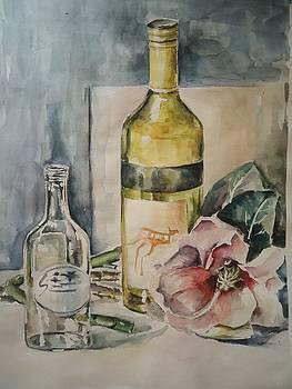 Bottles by Fareeha Usman