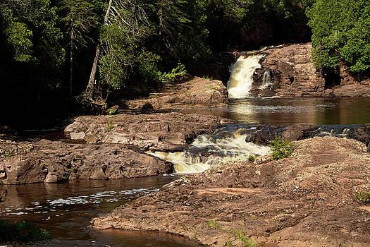 Bottom of Fifth Falls II by Amanda Kiplinger