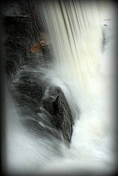 Bottom of the Waterfall 2 by Suzanne DeGeorge