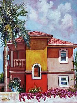 Bougainvillea Villa by Eve  Wheeler