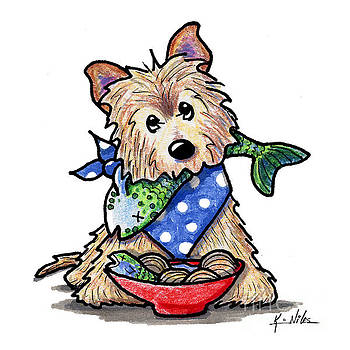 Bouillabaisse Cairn Terrier by Kim Niles
