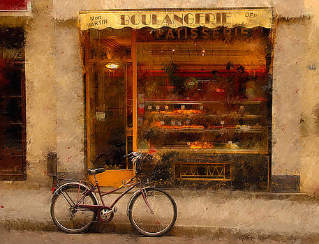 Mick Burkey - Boulangerie and Bike 2