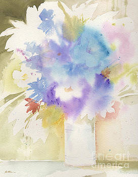 Bouquet Blues by Sheila Golden