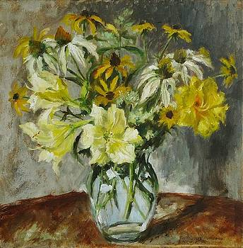 Bouquet it Yellow by Veronica Coulston