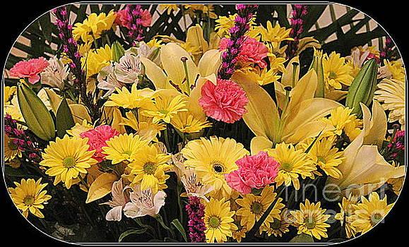 Bouquet of Summer Blossoms by Dora Sofia Caputo Photographic Art and Design