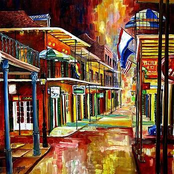 Bourbon Street Lights by Diane Millsap
