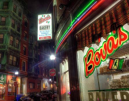 Bova's Bakery - North End - Boston by Joann Vitali