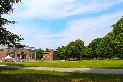 Bowdoin Quad by Robbie Basquez