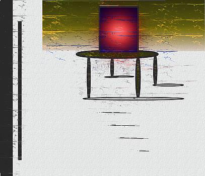 Box On A Table by John Krakora
