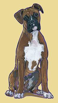Boxer Bentley by Nadi Spencer