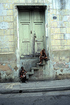 Boys On Stairs by Marcus Best