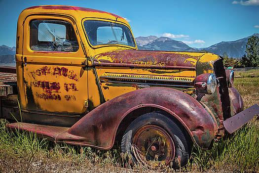 Bozeman Big Sky Truck by Steven Bateson