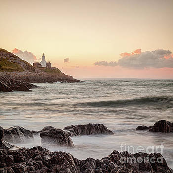 Bracelet Bay and The Mumbles Lighthouse by Colin and Linda McKie