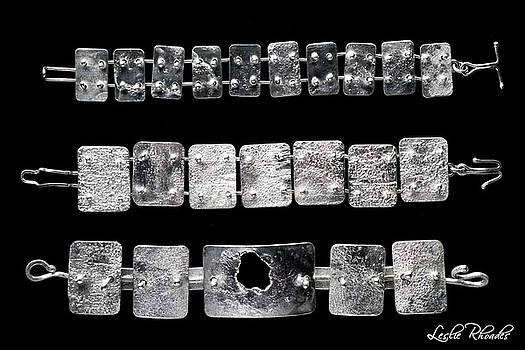 Bracelets by Leslie Rhoades
