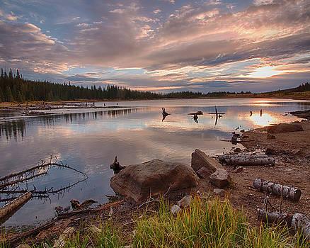 Brainard Lake Sunrise by Lois Lake